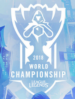 League of Legends WM 2018 Logo