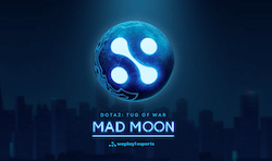 Logo Dota 2 Tug of War Mad Moon